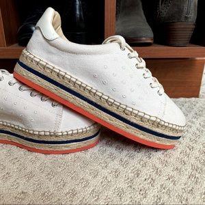Vince Camuto espadrille platform sneakers